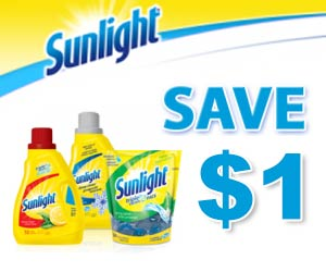 Save $1 on Sunlight Laundry