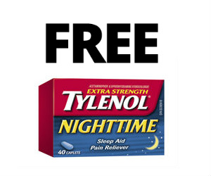 Free Tylenol Nighttime Sample