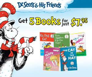5 Dr. Seuss Books for $7.95