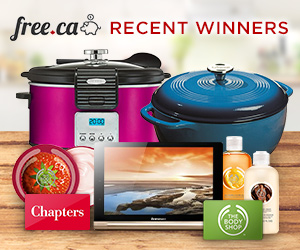 Free.ca Recent Winners