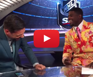 PK Subban's Don Cherry Impression- So Good!