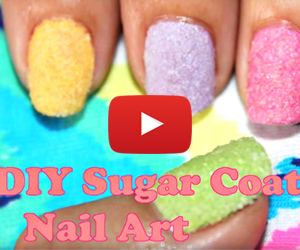 This Sugar Nail Art Is Pretty Sweet