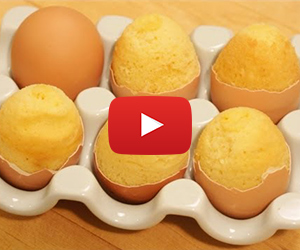 You Can Bake a Cake Inside an Egg