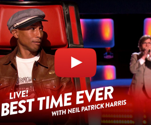 NPH Goes Undercover on The Voice