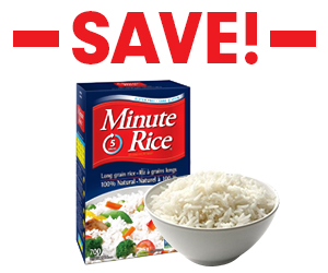 Save $1 off Minute Rice