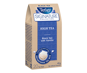 Save $2 off Tetley Signature Collection Products