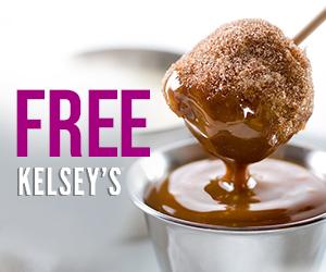 Free Brownie Cake Pop at Kelsey's