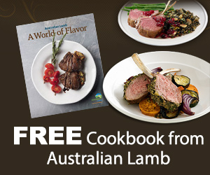 Free Cookbook from Australian Lamb
