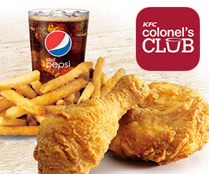 Join KFC Colonel's Club