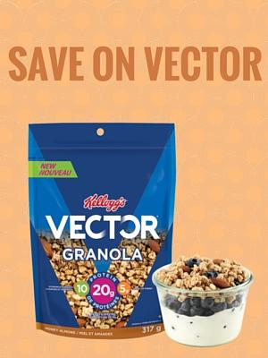 Save $2 when you buy 2 Vector Granola