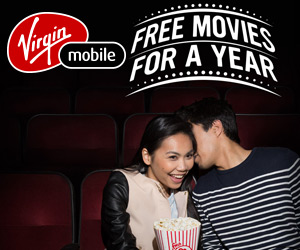 Win Free Movies For a Year from Virgin Mobile
