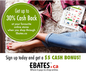 Get $5 Now from Ebates!