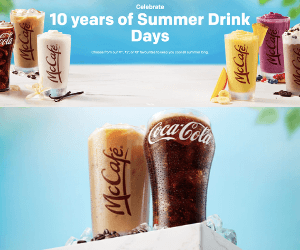 McDonald's Summer Drinks Days