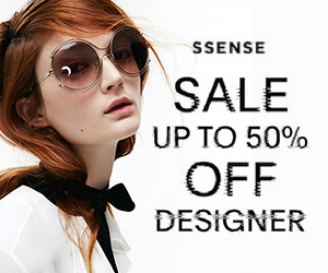 SSENSE 50% Off Sale