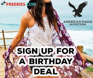 Get a Discount on your Birthday at AEO and Aerie