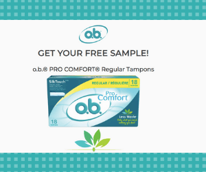 Free Box of OB Tampons