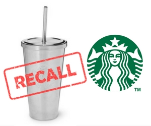 Starbucks Stainless Steel Straw Recall