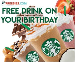 Free Birthday Drink at Starbucks