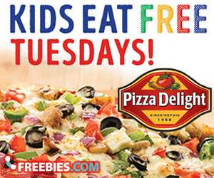 Kids Eat Free Every Tuesday at Pizza Delight