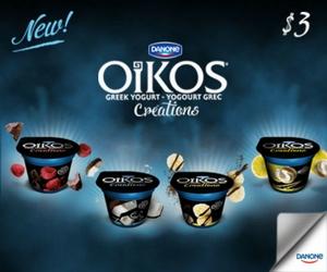 $3 in Savings on Oikos