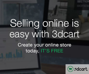 Free Online Store at 3dcart