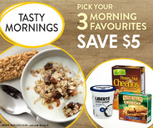 Save $5 Off 3 General Mills Products