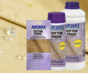 Free Sample of Nikwax Cotton Proof