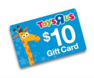 $10 Savings Card at Toys R Us