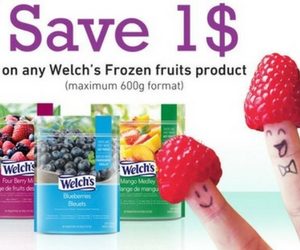 Save $1 Off Welch's Frozen Fruit Products