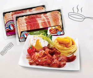 Save $1 on Olymel Bacon
