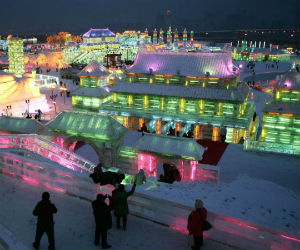 You Have to See This Entire City Made of Ice