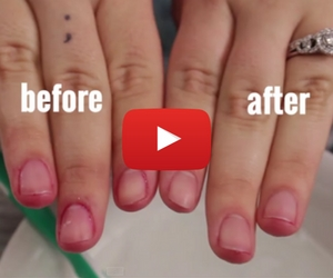Get Rid of Nail Polish Stains with a Household Item