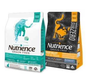 Save $3 off Nutrience Cat Food