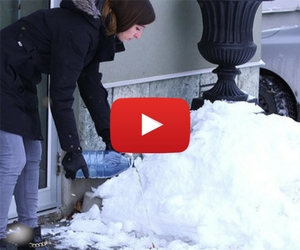 Melt Away Ice With An Easy To Make Sidewalk Solution