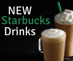 Try the 2 Newest Starbucks Drinks