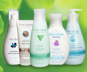 Join Live Clean and Receive a $1 Coupon