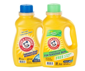 Save $1.50 on Arm & Hammer Laundry Detergent