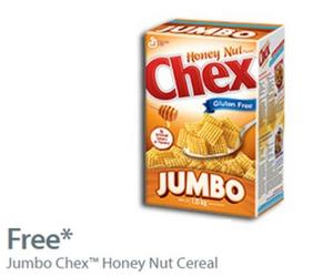 Free Jumbo Chex Honey Nut Cereal