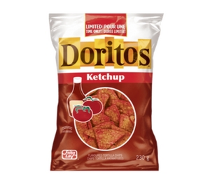 Save $1 on Doritos Ketchup Flavoured Chips