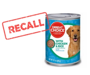 Grreat Choice Adult Dog Food Recall