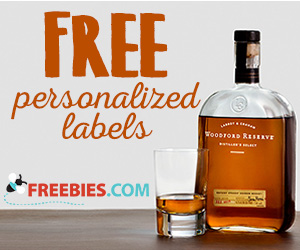 Free Custom Woodford Reserve Bourbon Label