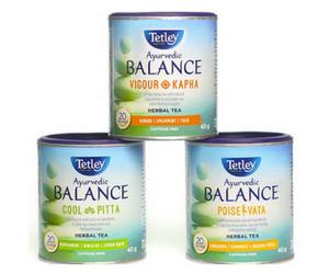 Save $1 off Tetley Ayurvedic Balance Tea