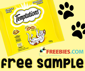 Free Sample of Temptations Cat Treats