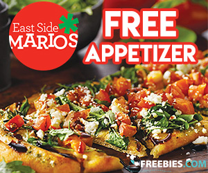 Join East Side Mario's for a Free Appetizer