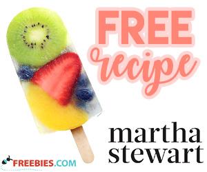 Summer Ice Pop Recipe from Martha Stewart