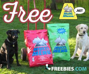 Get a Free Sample of Multi Menu Dog Food
