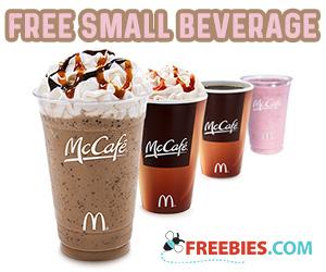 Free McDonald's McCafe Specialty Beverage