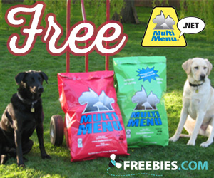 Free Multi Menu Dog Food Sample