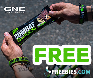 Free Combat Crunch Bar From GNC
