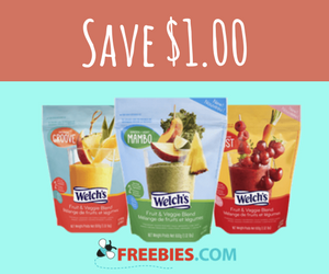 Save $1 off Welch's Frozen Fruit Product